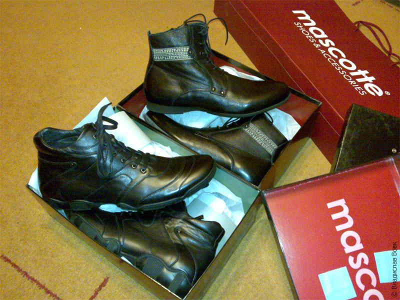 Ботинки Mascotte в коробке, обувь Москот-шуз